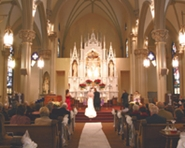 beautiful ceremony in stunning church