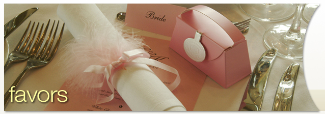 Rochester Wedding Favors banner image