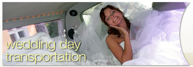 Rochester Wedding Day Transportation banner image