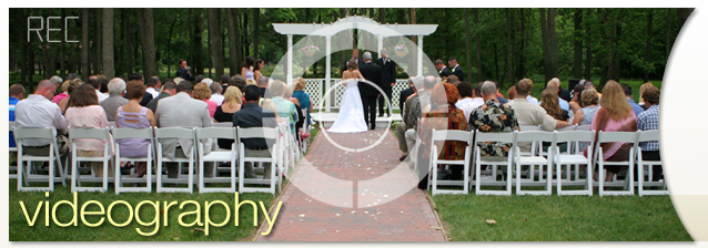 Videography at your Rochester Wedding banner image