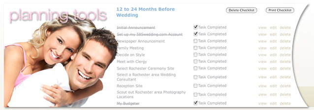 Free wedding planning tools