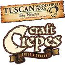 Tuscan Wood Fired Pizza Catering, Rochester Wedding Reception Venues
